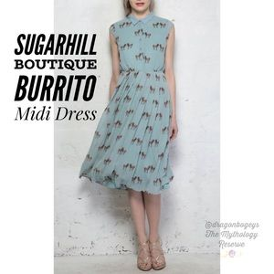 Sugarhill Boutique Burrito Midi Dress